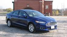 2013 Ford Fusion (Bob English for The Globe and Mail)