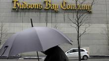 Hudson's Bay Co. reflected retailers' pain on Thursday when it reported that sales for the fiscal first quarter are below expectations so far. (Fernando Morales/The Globe and Mail)