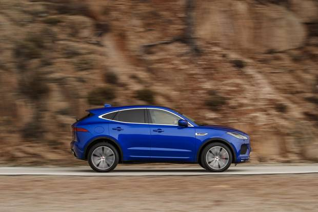 The E-Pace will easily be one of the most agile compact