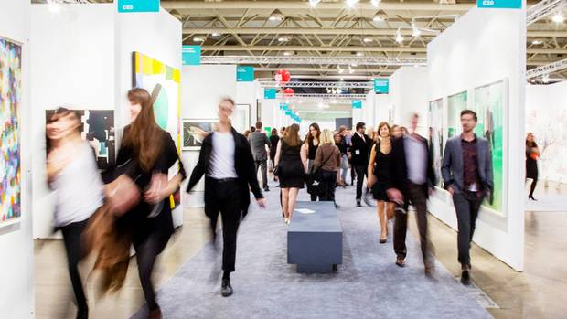 This year's Art Toronto fair will feature 124 exhibitors, about 10 per cent higher, than in 2015, with expectations that attendance will surpass last year's record 21,000.