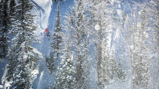 Challenging terrain at Jackson Hole Mountain Resort