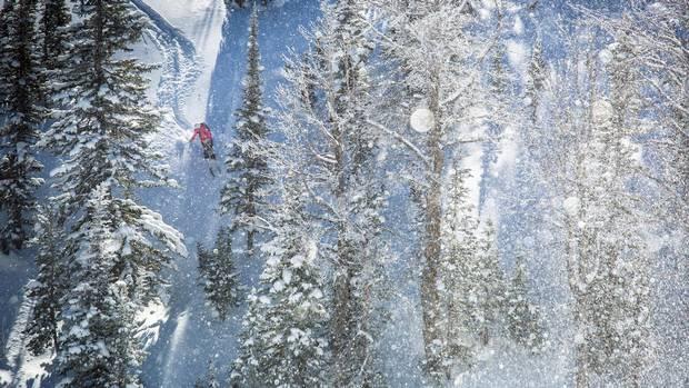 Challenging terrain at Jackson Hole Mountain Resort