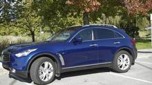 2014 Infiniti QX70 (Ted Laturnus for the Globe and Mail)