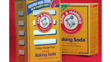 The stock of Church & Dwight, maker of Arm & Hammer baking soda, has gained 130 per cent in the last five years. (Richard Drew/AP)