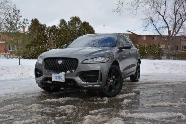 PIcs for Faceoff between Alfa Romeo Stelvio and Jaguar F-Pace.