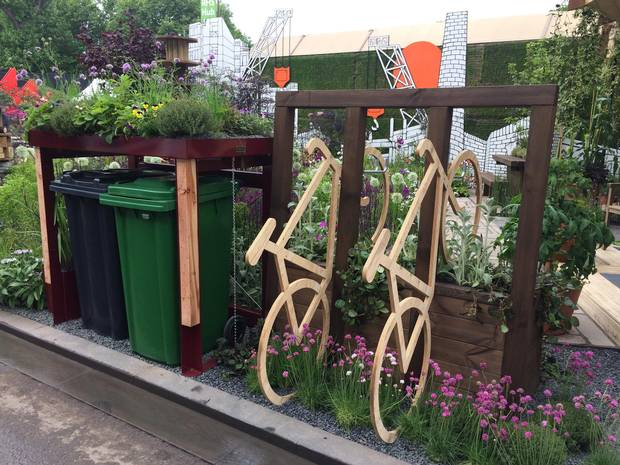 Innovative ideas remind us we just need to use a little imagination to carve out space in urban gardens.