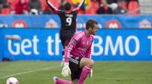 Toronto FC 's goalkeeper Milos Kocic (Chris Young/The Canadian Press)