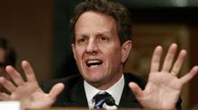File photo of U.S. Treasury Secretary Timothy Geithner (KEVIN LAMARQUE/REUTERS)