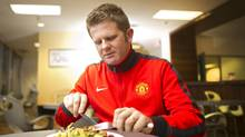 Sticking to salad helps Iain Jones's soccer game. (Kevin Van Paassen/The Globe and Mail/Kevin Van Paassen/The Globe and Mail)