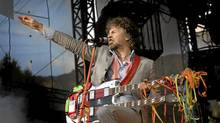 Wayne Coyne, lead singer of the Flaming Lips performs at the Pemberton Festival on July 26, 2008. Jennifer Roberts/Globe and Mail (JENNIFER ROBERTS/THE GLOBE AND MAIL)