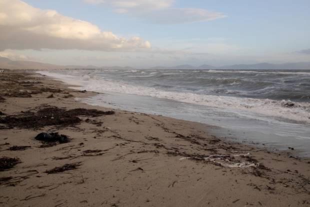 Dikili beach, north of Izmir.