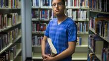 If the labour dispute continues into the fall, grade 11 student Tomer Stav, may lose a much-needed opportunity to polish his grades before applying to universities. (John Lehmann/The Globe and Mail)