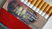 Health Canada, which spent years and millions of dollars studying new warning labels for tobacco products, decided to do nothing. (SHAUN BEST / REUTERS/SHAUN BEST / REUTERS)