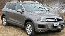 2012 VW Touareg TDI (Bob English for The Globe and Mail/Bob English for The Globe and Mail)
