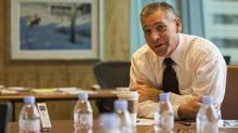 TransCanada president and CEO Russ Girling says the public tends to be more wary of transporting oil than natural gas. (Jeff McIntosh/The Canadian Press)