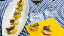 The Quick Fix Crispy Polenta and Mushroom Appetizers (The Globe and Mail/Tad Seaborn)