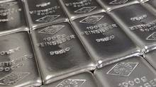 A file photo of silver bars. (LISI NIESNER/LISI NIESNER/REUTERS)