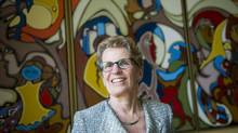 Ontario Premier Kathleen Wynne, shown at Queen's Park on June 18, 2013. (KEVIN VAN PAASSEN/THE GLOBE AND MAIL)