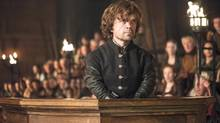 Peter Dinklage in Game of Thrones, Season 4. (HELEN SLOAN/HBO)