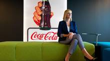 Tova White, vice-president of human resources at Coca-Cola Canada, at the company's King Street East office in Toronto. (Galit Rodan For The Globe and Mail)