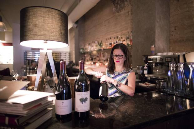 Restaurant Director Leslie Echino has owned her restaurant Blink in downtown Calgary for 10 years.