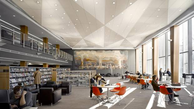 How Libraries Are Getting Bright Loud And Friendly The Globe And Mail