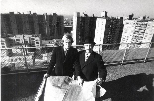 Donald Trump, in a 1973 photo, served his real estate industry apprenticeship with his father, Fred.