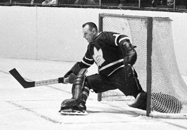 A master of the pokecheck with a penchant for a spread-legs save known as the 'splits,' Johnny Bower helped backstop the Toronto Maple Leafs to four Stanley Cups, including the team's last in 1967.