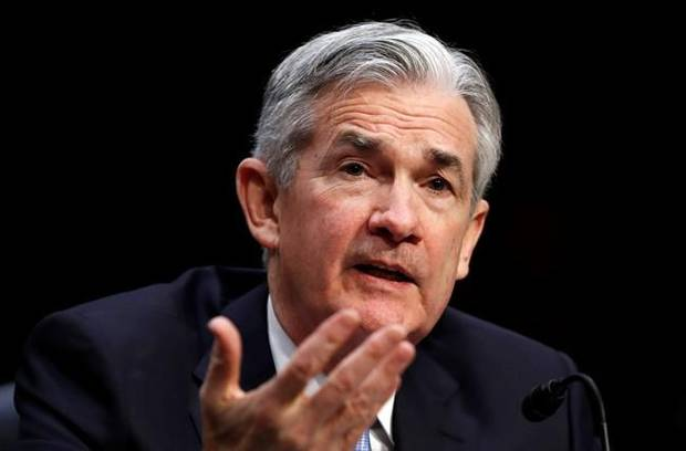 New Fed chair Jerome Powell