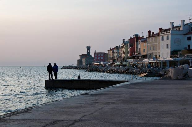 The town of Piran – home to a lively piazza and a 17th-century church – is considered the pearl of Slovenia's coast.