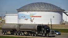 Enbridge predicts annual earnings and dividend growth of 12 per cent over the next five years. Expect to hear good news in December. (DAN RIEDLHUBER/REUTERS)