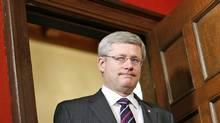 Prime Minister Stephen Harper in Ottawa on Dec. 21, 2011. (CHRIS WATTIE/Chris Wattie/Reuters)