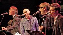 From left, Craig Northey, John Mann, Steven Page, Andy Maize. (John Lauener)