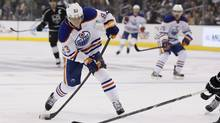 Edmonton Oilers' Ales Hemsky (Danny Moloshok/The Associated Press)
