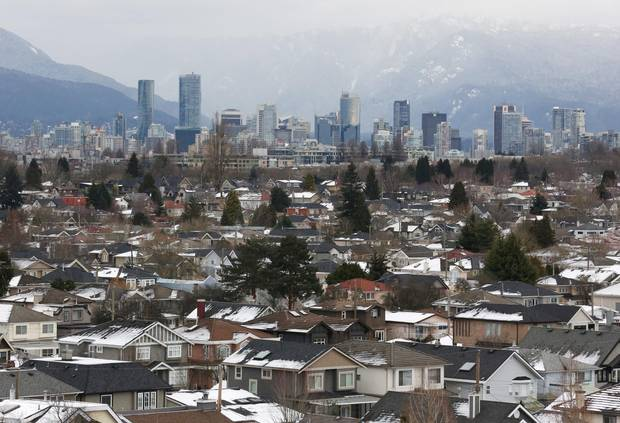 Houses photographed in the Kitsilano neighbourhood and the downtown core of Vancouver, B.C.