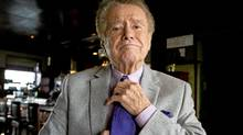 Television personality Regis Philbin, best known as the long-time co-host of Live with Regis and Kelly, is photographed in Toronto, Ont. (Kevin Van Paassen/The Globe and Mail/Kevin Van Paassen/The Globe and Mail)