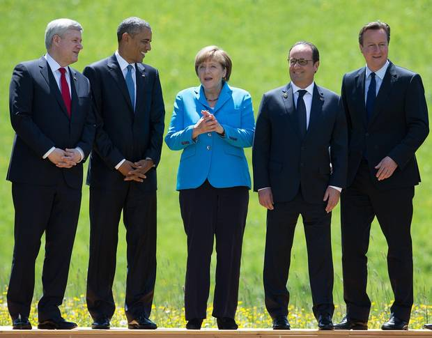 The North America-Europe alliance in 2015. By the end of 2016, three of the five leaders could be be women.