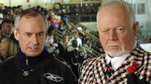 Don Cherry and Ron MacLean. CBC-File
