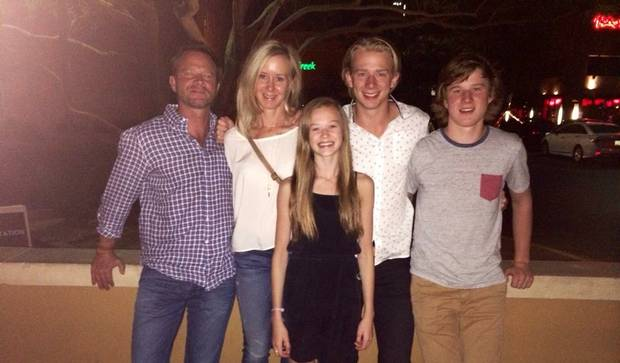 George Gosbee's family, seen in 2014, saw a much different picture of the man seen by the business world.