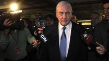 The amount of income and taxable benefits that Conrad Black may have to pay tax on is still to be decided, but could be as high as $5.1-million, according to an estimate from the Canada Revenue Agency included in court documents. (Fred Lum/The Globe and Mail)