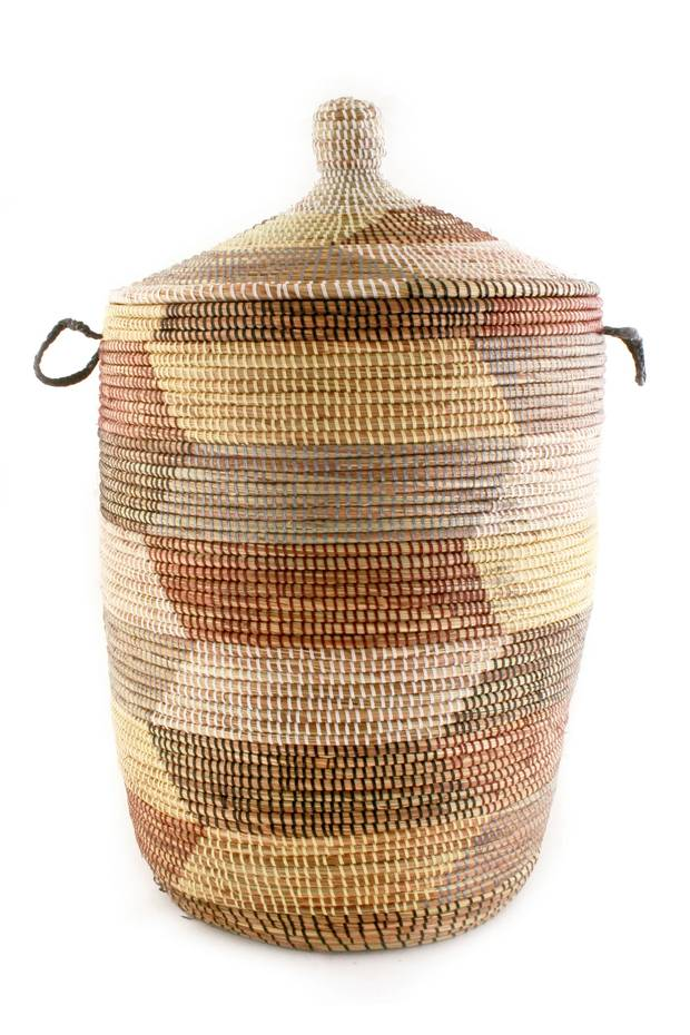 Large basket, $295 at Pimlico Gallery (pimlicogallery.com).