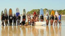 A Beach Travellers group in Costa Rica at the company's surf camp. (John Buchanan)