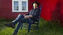 Canadian country musician Paul Brandt sits at his home near Calgary on July 9, 2013. (KEVIN VAN PAASSEN/THE GLOBE AND MAIL)