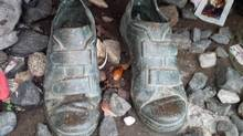 After many weeks of walking, and with less than a day left to his goal, Guillermo Watt, 69, died of a heart attack while going up a hill in 1993. His shoes were bronzed and a memorial set up at the spot. (Prostate Cancer Canada)