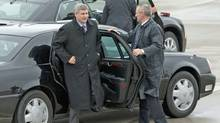 Prime Minister Stephen Harper leaves Ottawa on Thursday, November 26, 2009, for Port of Spain to attend the Commonwealth Heads of Government Meeting. (Sean Kilpatrick)