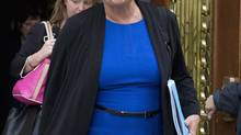 Premier Pauline Marois denies an allegation that her husband struck a deal with the Quebec Federation of Labour to thwart a corruption inquiry. (Jacques Boissinot/The Canadian Press)