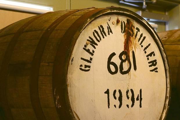 The nearby Glenora Distillery.
