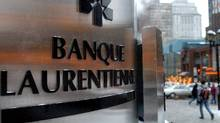 Laurentian Bank's main branch in downtown Montreal. (John Morstad/The Globe and Mail)