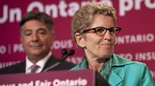 Ontario Premier Kathleen Wynne speaks on Toronto on June 11, 2013. (MOE DOIRON/THE GLOBE AND MAIL)