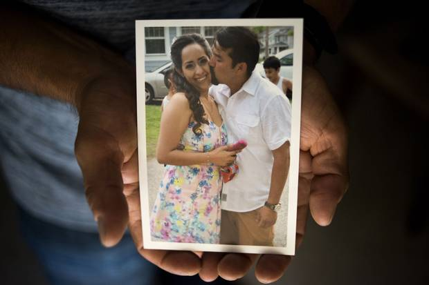 Ms. Morelos and Mr. De Jesús are shown in a family picture.